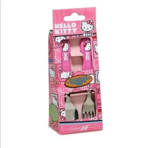 Hello Kitty Spoon & Fork Set